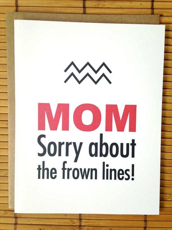 Funny Moms Birthday Day Card Happy Birthday Mom Mothers Birthday Card Birthday Card For Mom