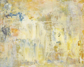 abstract art on canvas board, decorative wall art, 8 x 10 acrylic