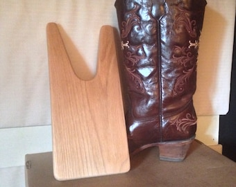 Solid Oak Boot Jack Made To Order