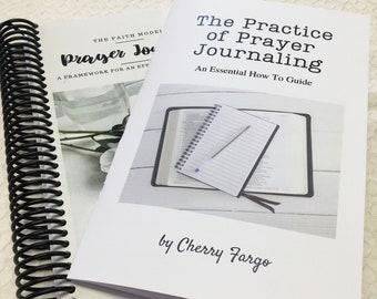 Prayer Journal, FAITH, Prayer Model, Journal, Bible Study Aid, Prayer Journaling Instruction Booklet, Prayer Plan, Christian Prayer Journal