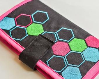 Honeycombs - Machine Embroidery Design