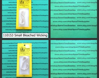 Candle Crafting by Yaley - Bleached Candle Wicking - assorted sizes - 1 pkg