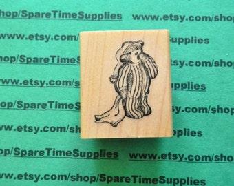 BedTime Bear - Mounted Rubber Stamp - #DEL-E563