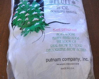 Soft Snow Fluff - white - 1 lb - 1 pkg - #SF00015