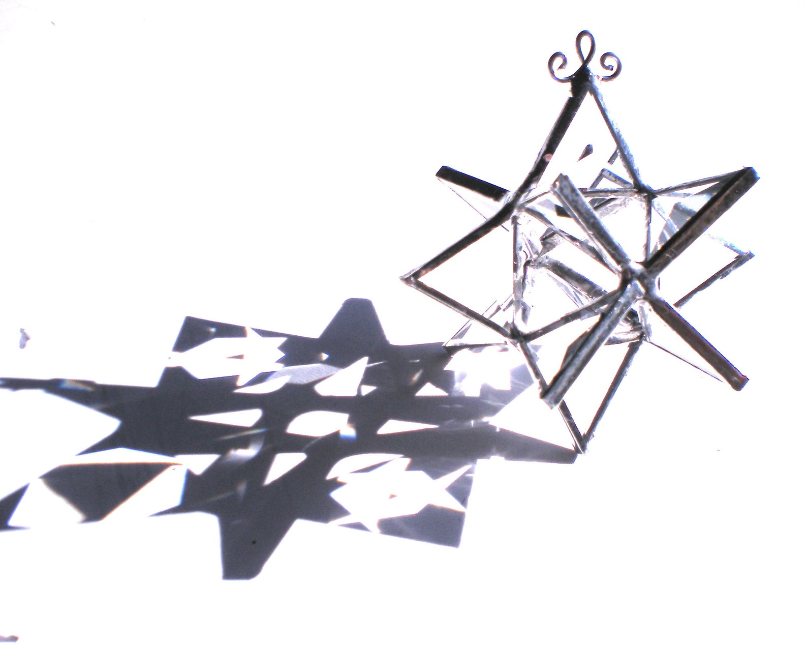 Prism Dancer - Tiny Stained Glass Moravian Star