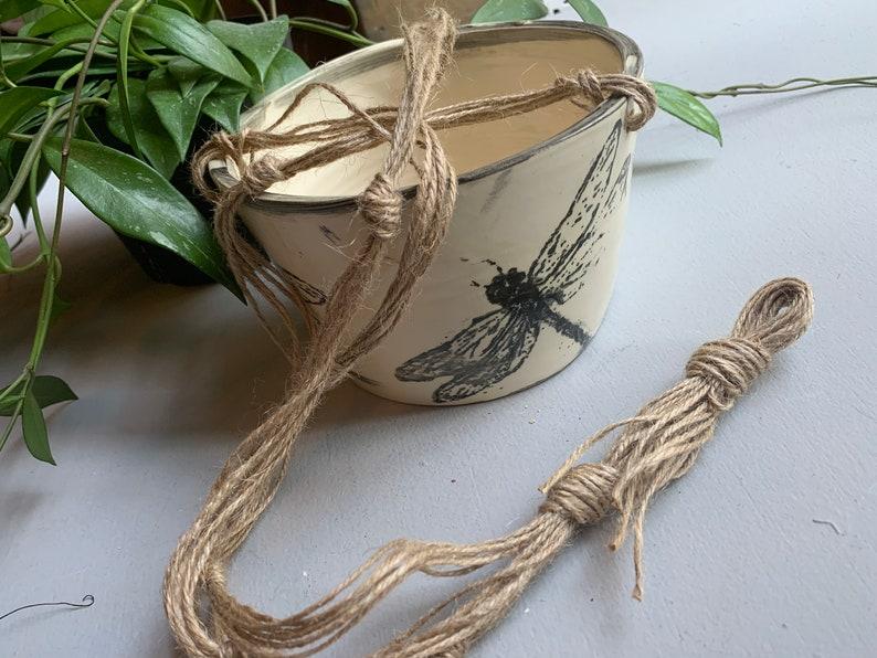 Hanging Medium Dragonfly Planter Made to Order