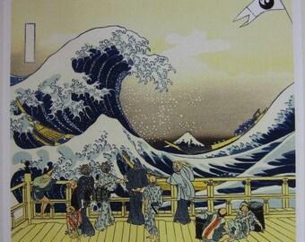 Japan Black TAKUMA YOSHIDA giclee print on archival paper