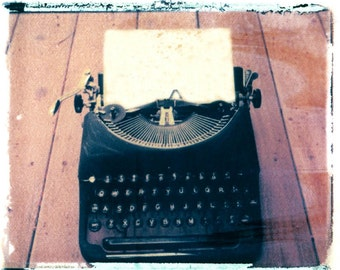 Underwood Typewriter Transfer Fine Art Photography your message there