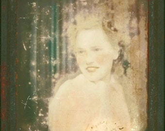 Love Sylvia Photomatic Distressed Tinted fine art photography print