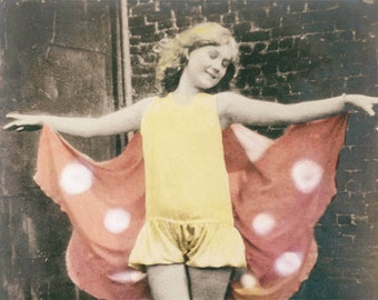 Butterfly Fairy Ballet Girl Costume fine art photograph