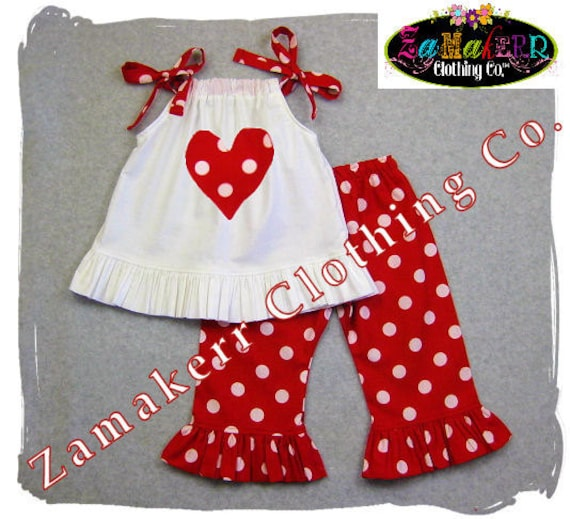 Girl Valentines Outfit Toddler Pant Set Infant Baby Valentine Birthday Day Heart Red Pant Dress 3 6 9 12 18 24 Month Size 2t 3t 4t 5t 6 7 8