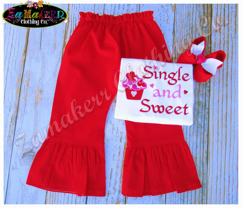 Baby Girl Valentine/'s Day Hearts Outfit Set Cupcake Pant Tee Toddler Infant Pink Red Sweet 3 6 9 12 18 24 Month Size 2t 2 3t 4t 4 5t 5 6 7 8