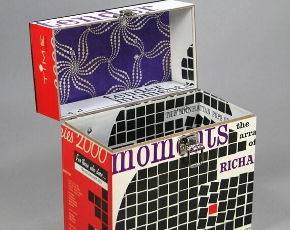 Really Useful Box 7/de vinilo Single de caja con tapa peque/ño