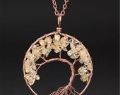 Tree of Life Bronze Pendan
