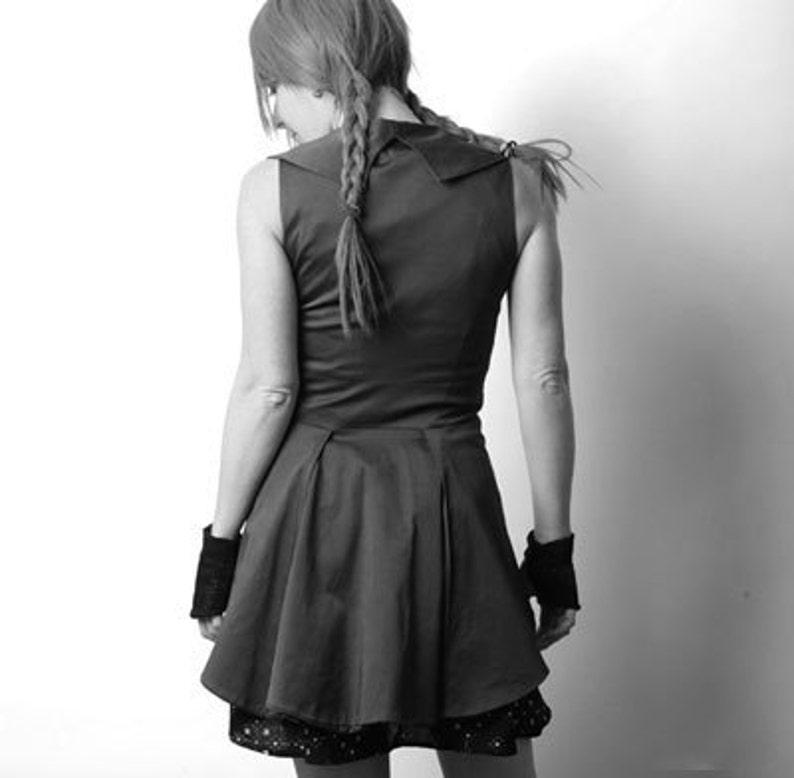 Swallowtail Steampunk Jacket Sleeveless Gothic vest Custom  8f09595da4d