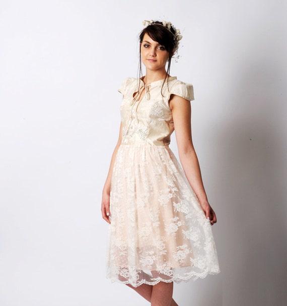 Women/'s spring dress MALAM size UK 12 Grey and black lace dress