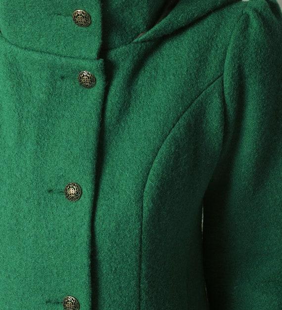 Kapuzewarm Kapuze Mantelgrüne grün grün Frauen Malachit mit Größe WintermantelSchurwolle Wolle Pixie MantelMALAMjede Mantel zGqSMVUp