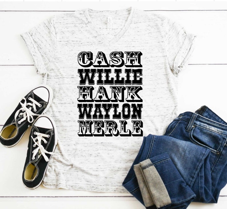 Legends of Country Music Tee or Tank