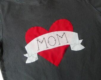 """Boys """"MOM"""" Tattoo Shirt"""