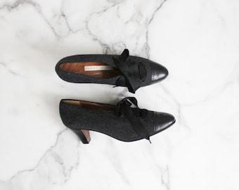 corset heels   lace up heels   size 7 7.5 8 heels
