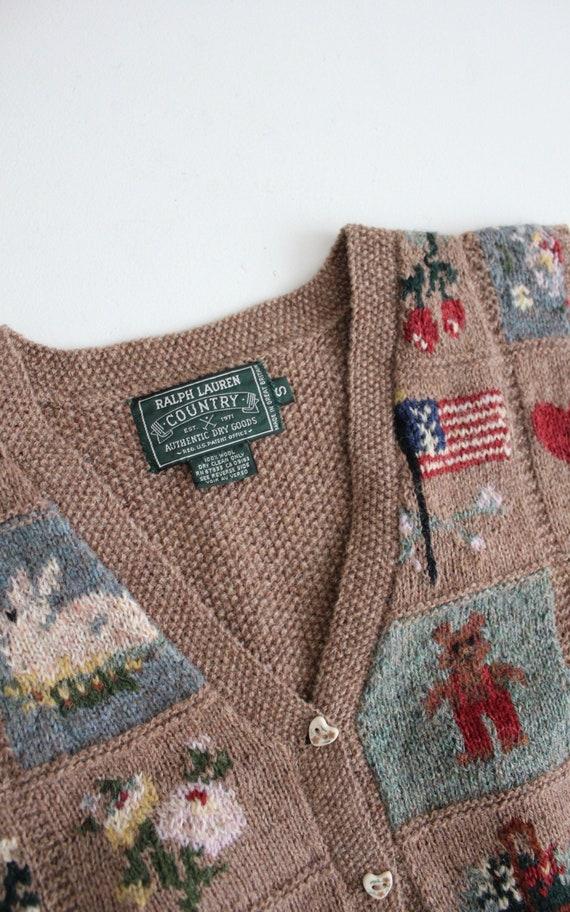 vintage americana vest | Ralph Lauren heritage ve… - image 8