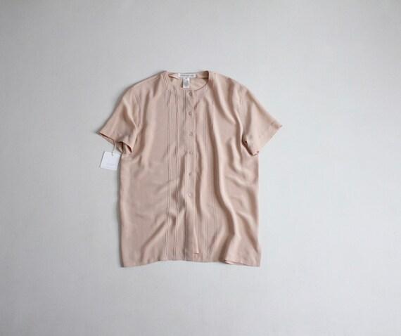 ballet pink blouse | pink silk blouse | silk pintu