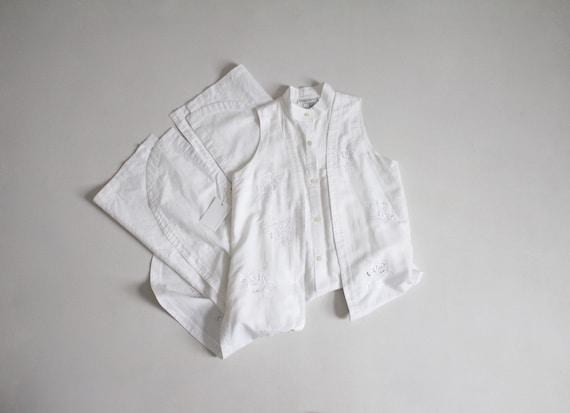 crisp layered dress   white tunic dress   cut out