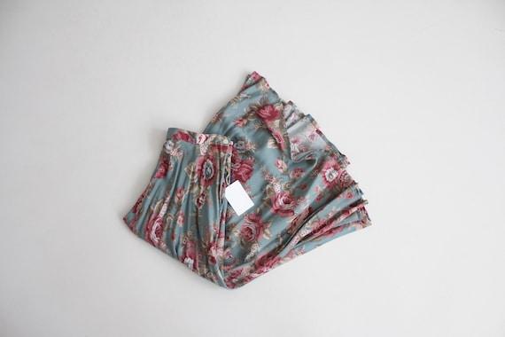 blue floral skirt | floral midi skirt | long flora