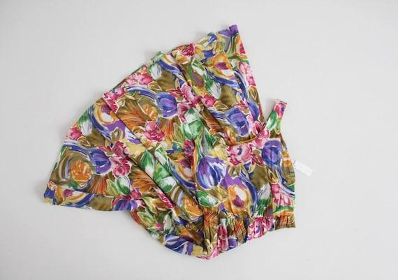 floral tank dress | bright floral sundress | nip w