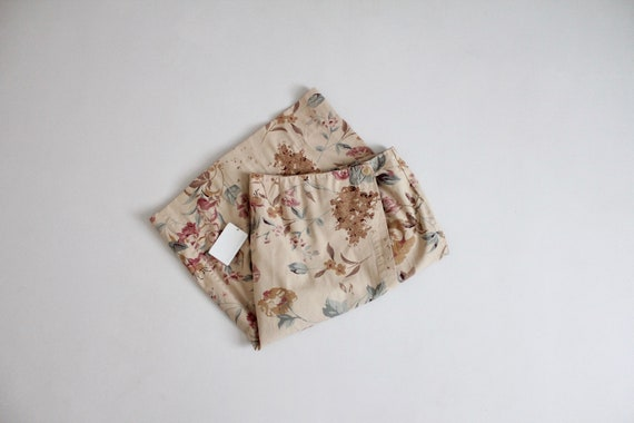 floral wrap skirt | wrap pencil skirt | muted flor