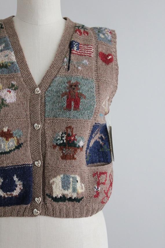 vintage americana vest | Ralph Lauren heritage ve… - image 2