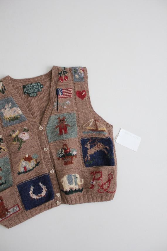 vintage americana vest | Ralph Lauren heritage ve… - image 7