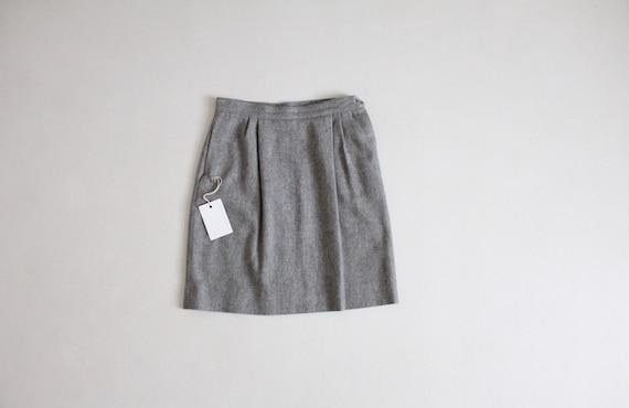 gray wool skirt | wool mini skirt | short gray ski