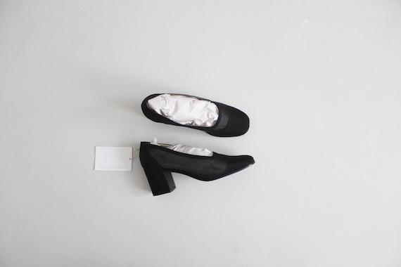 black mesh heels 8 | sheer black heels 7.5 | see t