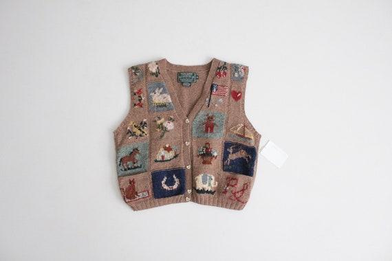 vintage americana vest | Ralph Lauren heritage ves
