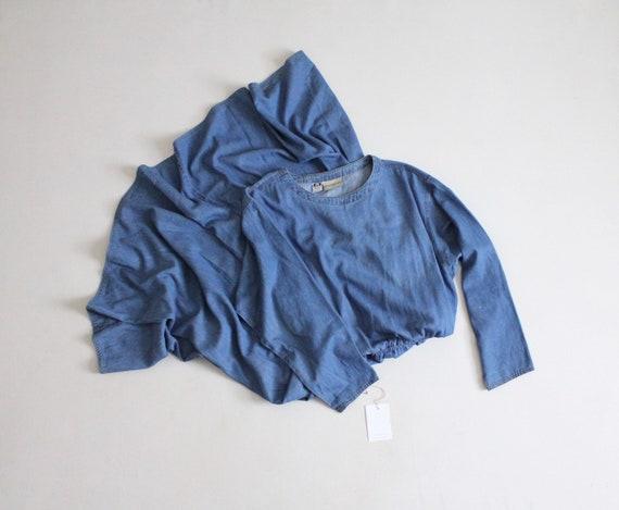 IMPERFECT | long denim dress | vintage denim dress