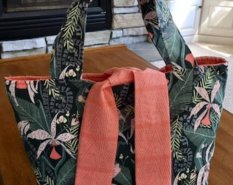 Jungle print Lilly Blossom Bag