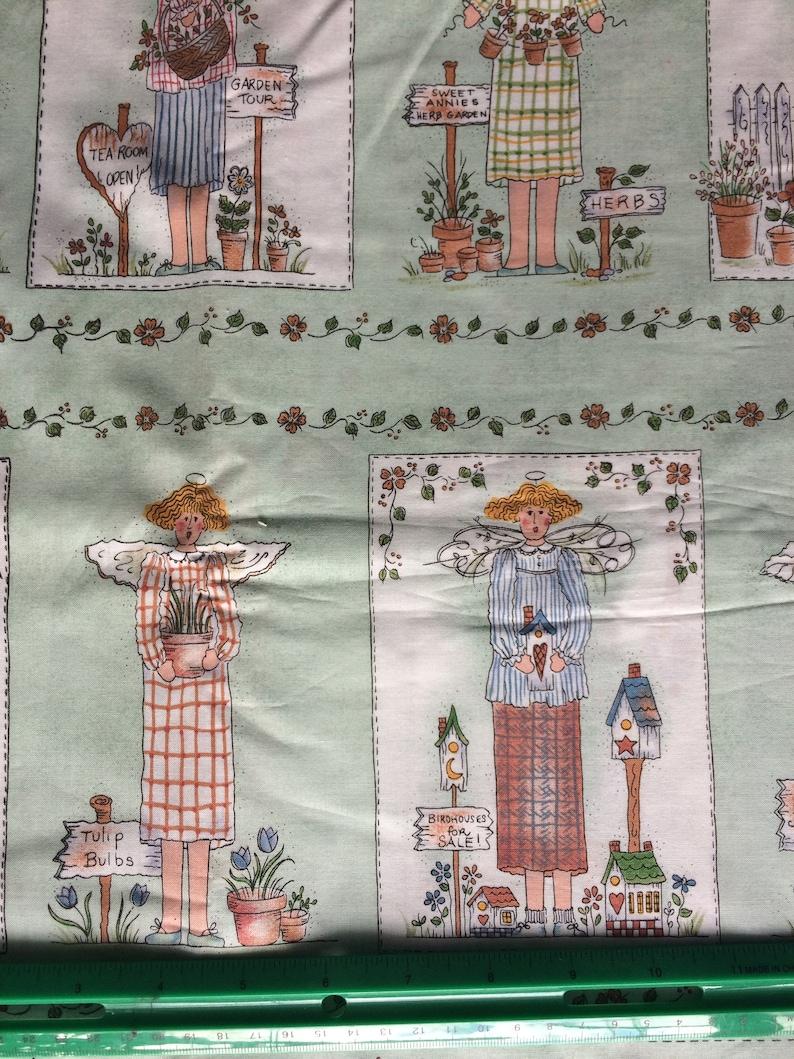 Mimi S Things Pinnacle Fabrics Garden Angel Panels By Etsy