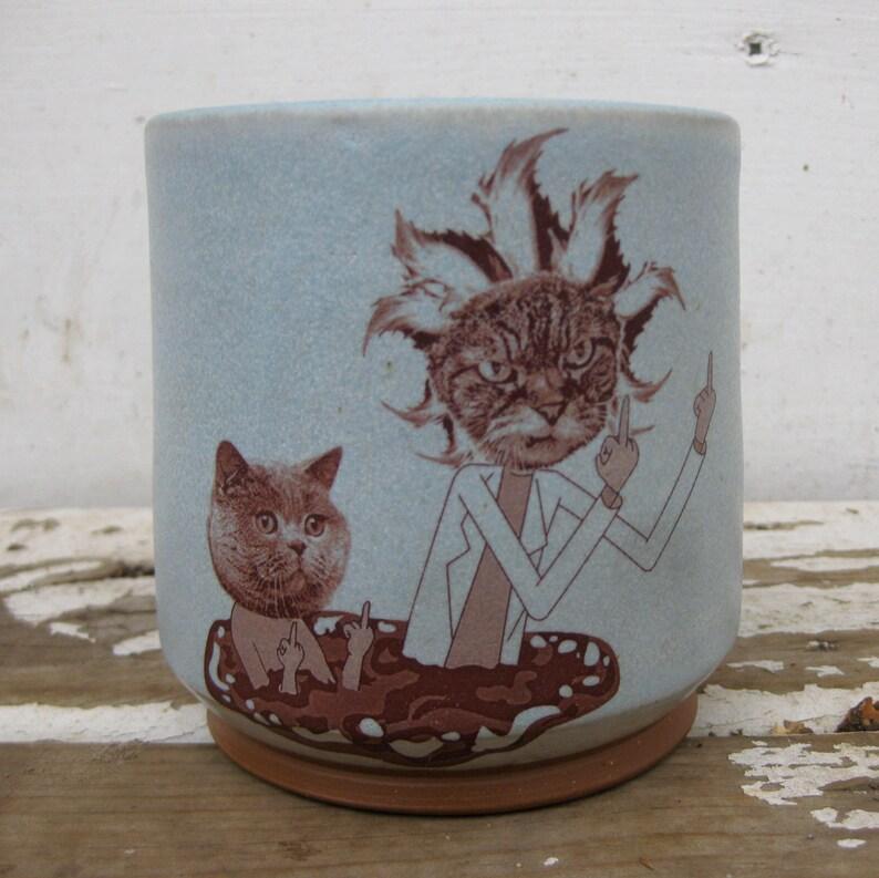 Rick and Meowty Rocks Glass
