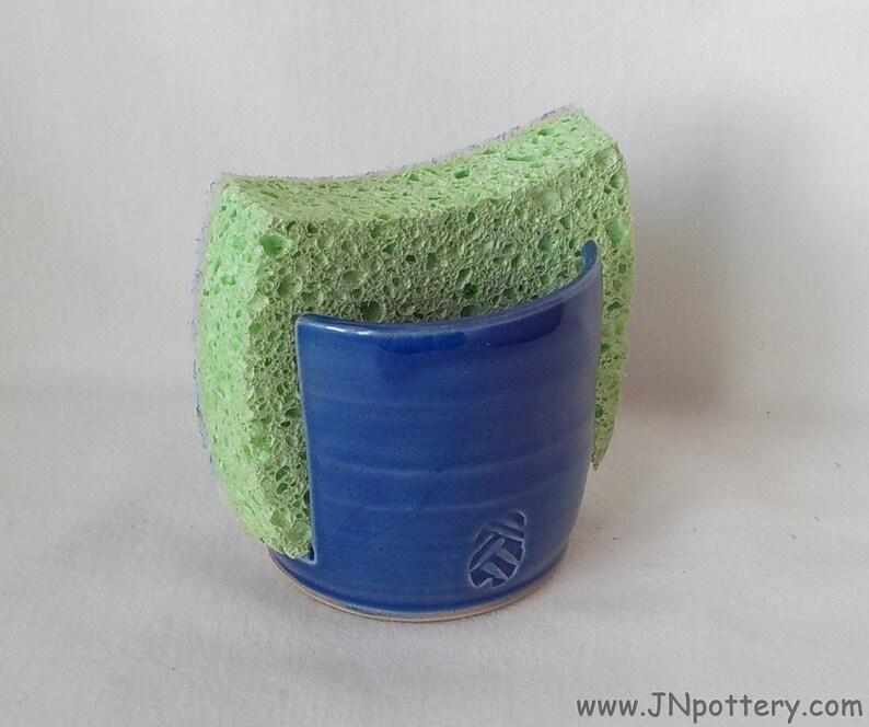 Ceramic Sponge Holder Sponge Dryer Kitchen Accessory Stoneware image 0