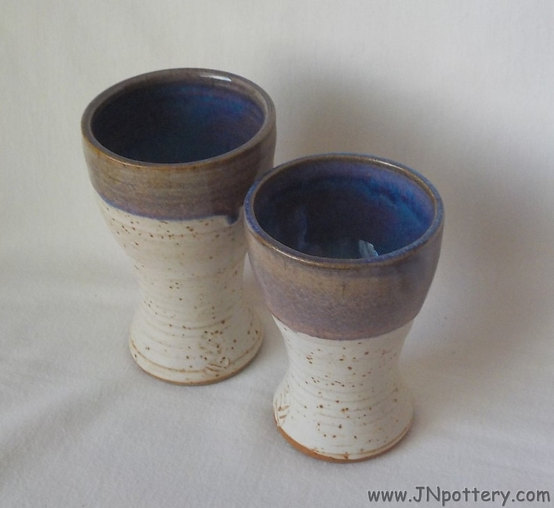 Ceramic Goblets Cordial Cups Sherry Cups Small Stoneware image 0