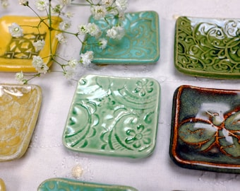 Starter Set, 25 Assorted Little Dishes, Ceramic Dishes, Pottery Dishes, Wholesale Pottery, Handmade Pottery, Best Seller, Made in Colorado