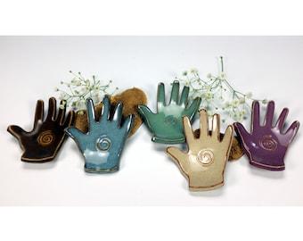 Spiral Healing Hand, Reiki Healing Hand, Massage Therapist Gift, Metaphysical Gift