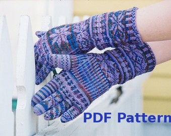 Knitted Gloves - PDF Pattern