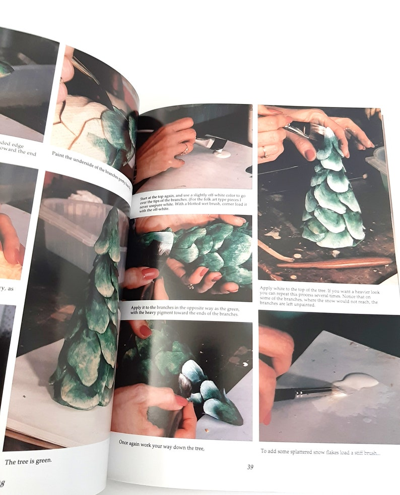 Christmas Carvings from Commercial Turnings Softbound Book ...