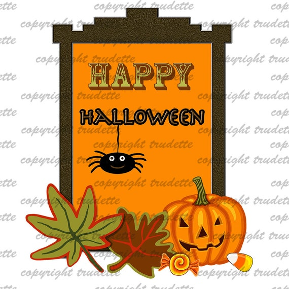 Free Happy Halloween Pictures Clip Art 2018 For Birthday - Transparent  Background Happy Halloween Clipart, HD Png Download - vhv