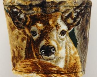 Clearance - Coffee Cozy, Cup Sleeve, Eco Friendly, Slip-on, Teacher Appreciation, Co-Worker Gift:  Deer- Wildlife Series