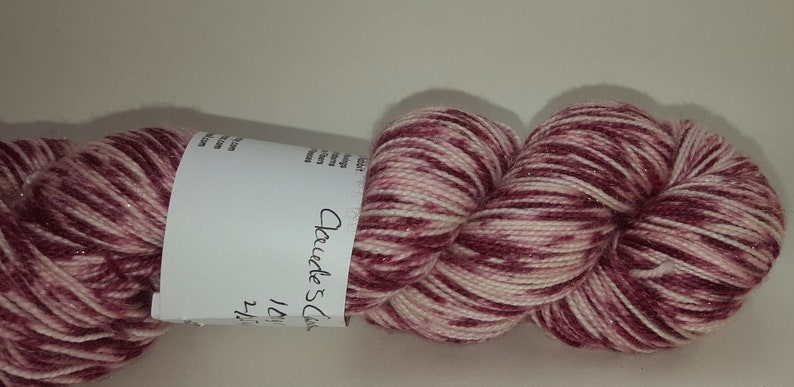 Fairy Sock Gold in Claude/'s Candy Cane I 425 yds
