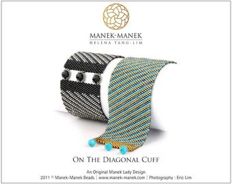 eTUTORIAL On The Diagonal Cuff
