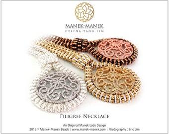eTUTORIAL Filigree Necklace